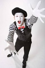 Mime at the Carnival | Unique Journal |