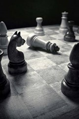 Checkmate on the Chess Board in Black and White | Unique Journal |