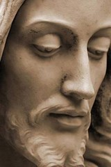 A Close Up of a Statue of Jesus Christ | Unique Journal |