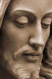 A Close Up of a Statue of Jesus Christ