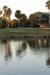 A Beautiful View of a South Texas Resaca and Golf Course