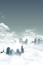 A City Metropolis in the Clouds