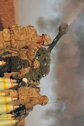 101st Airborne Division US Army Artillery Fire in Iraq