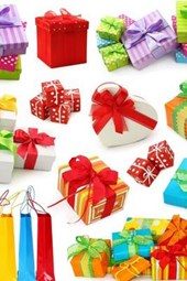 A Collage of Christmas Gifts