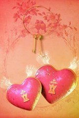 A Pair of Keys for a Pair of Pink Heart | Unique Journal |
