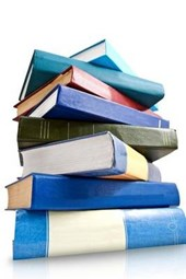 A Stack of Book Ready for the Library