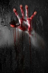 A Bloody Hand at the Window