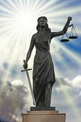 A Statue of the Blind Lady Justice | Unique Journal |