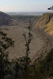 A View of Kilauea Volcano Crater, Hawaii