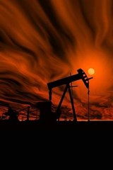 Industrial Oil Pump Under a Hot Sky Journal | Cool Image |