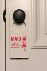 Maid Service Sign Journal | Cool Image |
