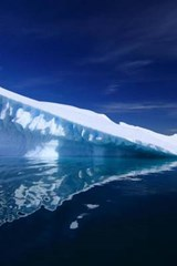 An Iceberg and It's Reflection in Antarctica | Unique Journal |