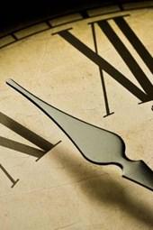 An Antique Wall Clock Face