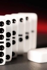 Standard Black and White Dominoes | Unique Journal |