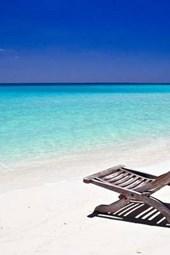 Chair on a Beach in Jamaica