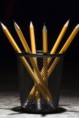 Cool Shot of a Cup of Pencils | Unique Journal |