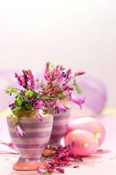 Easter Eggs and Flower Pots