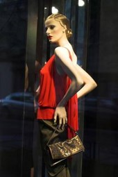 Fashion Mannequin in Paris, France
