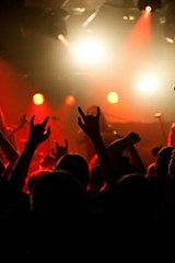 On Stage at a Rock Concert | Unique Journal |
