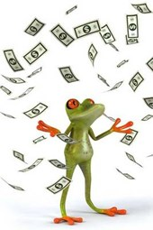 One Rich Frog