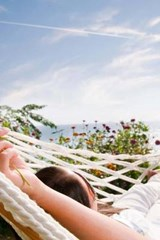 Relaxing in a Hammock on the Beach | Unique Journal |