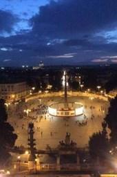 Beautiful Night Shot of Rome Italy Journal