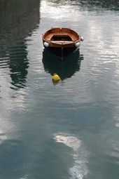 Boat in the Water of Garda Lake in Italy Journal