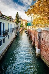 Water Canal in Venice Italy Journal