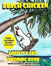 Beach Chicken Activity and Coloring Book