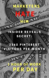Marketers HATE Him - Insider Reveals Secret to 2365 Pinterest Visitors per Month | Ergoprime |