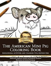 American Mini Pig Coloring Book
