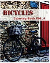 Bicycles Coloring Book