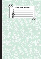 Music Lyric Journal