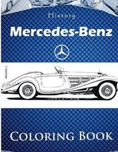 History and Innovations of Mercedes-Benz Coloring Book