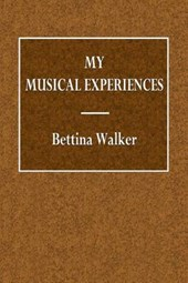 My Musical Experiences