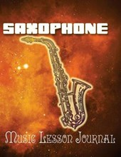 Saxophone Music Lesson Journal