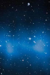 Galaxy Cluster 'el Gordo' Outer Space
