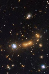 Galaxy Cluster Macs J0647 Outer Space
