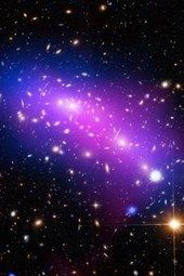 Macs J0416 Galaxy Cluster Outer Space
