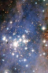 Stunning Trumpler 14 Star Cluster Outer Space