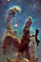 The Stunning Pillars of Creation in the Eagle Nebula