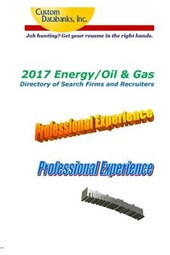 Energy/Oil & Gas Directory of Search Firms and Recruiters