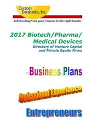 Biotech/Pharma/medical Devices Directory of Venture Capital and Private Equities