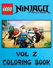 Lego Ninjago Coloring Book