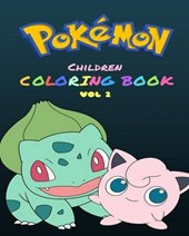 Pokemon Children's Coloring Book