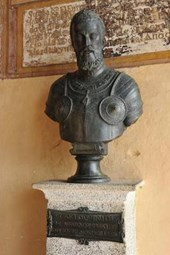 Bust of Emperor Charles V at Monastery in Yuste Spain Journal