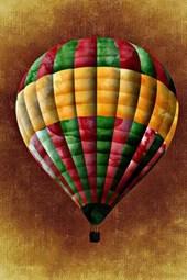 Drawing of a Hot Air Balloon