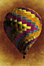 Drawing of a Hot Air Balloon