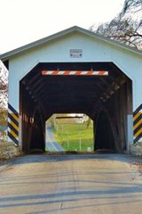 A Covered Bridge in Strasburg, Pennsylvania | Unique Journal |