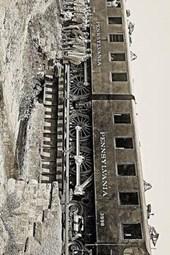 Antique Pennsylvania Railroad Locomotive Train